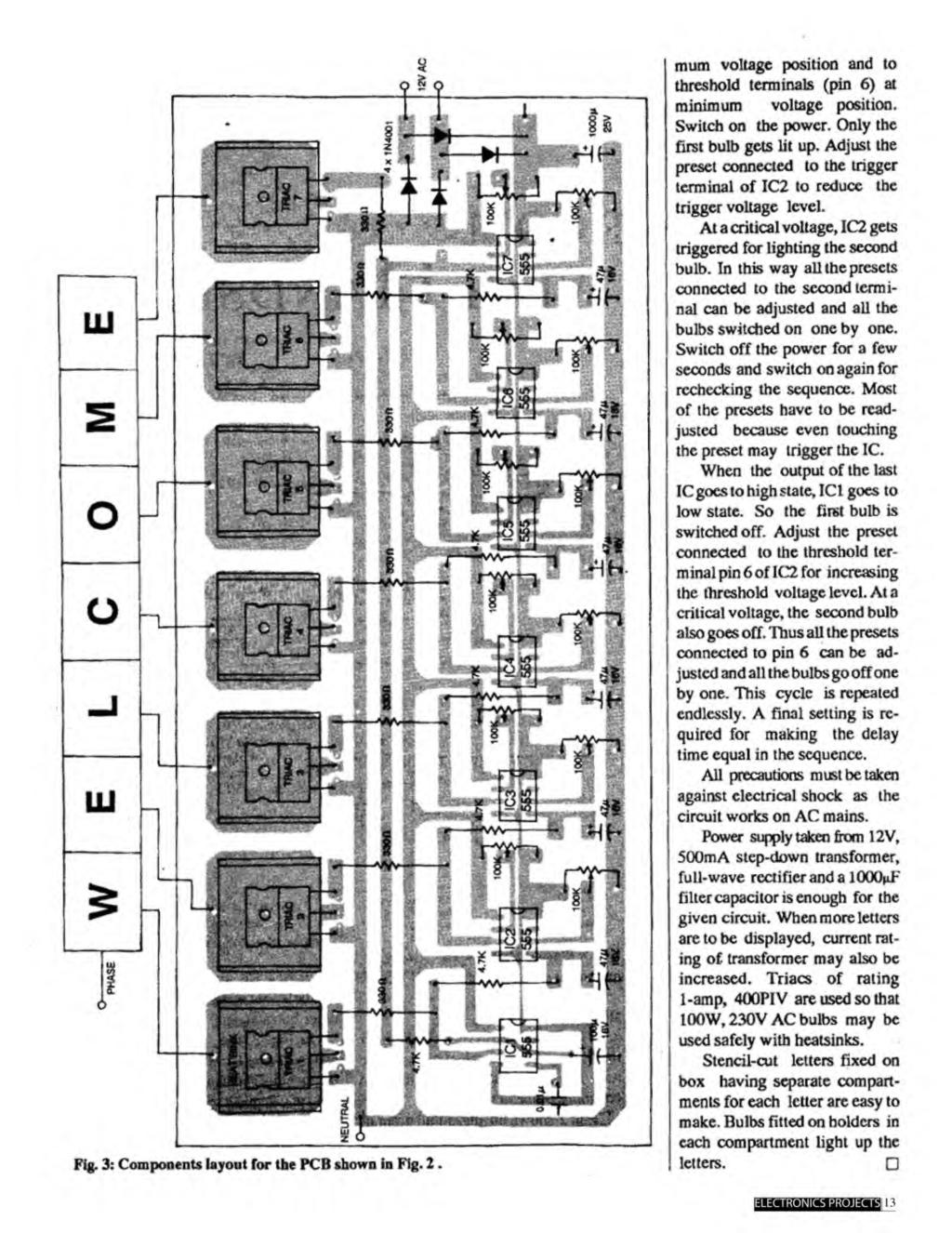A Compilation Of 102 And Circuit Ideas For Construction Projects Fig 2 Triple Gang Way Light Switch Mum Voltage Position To Threshold Terminals Pin 6 At Minimum