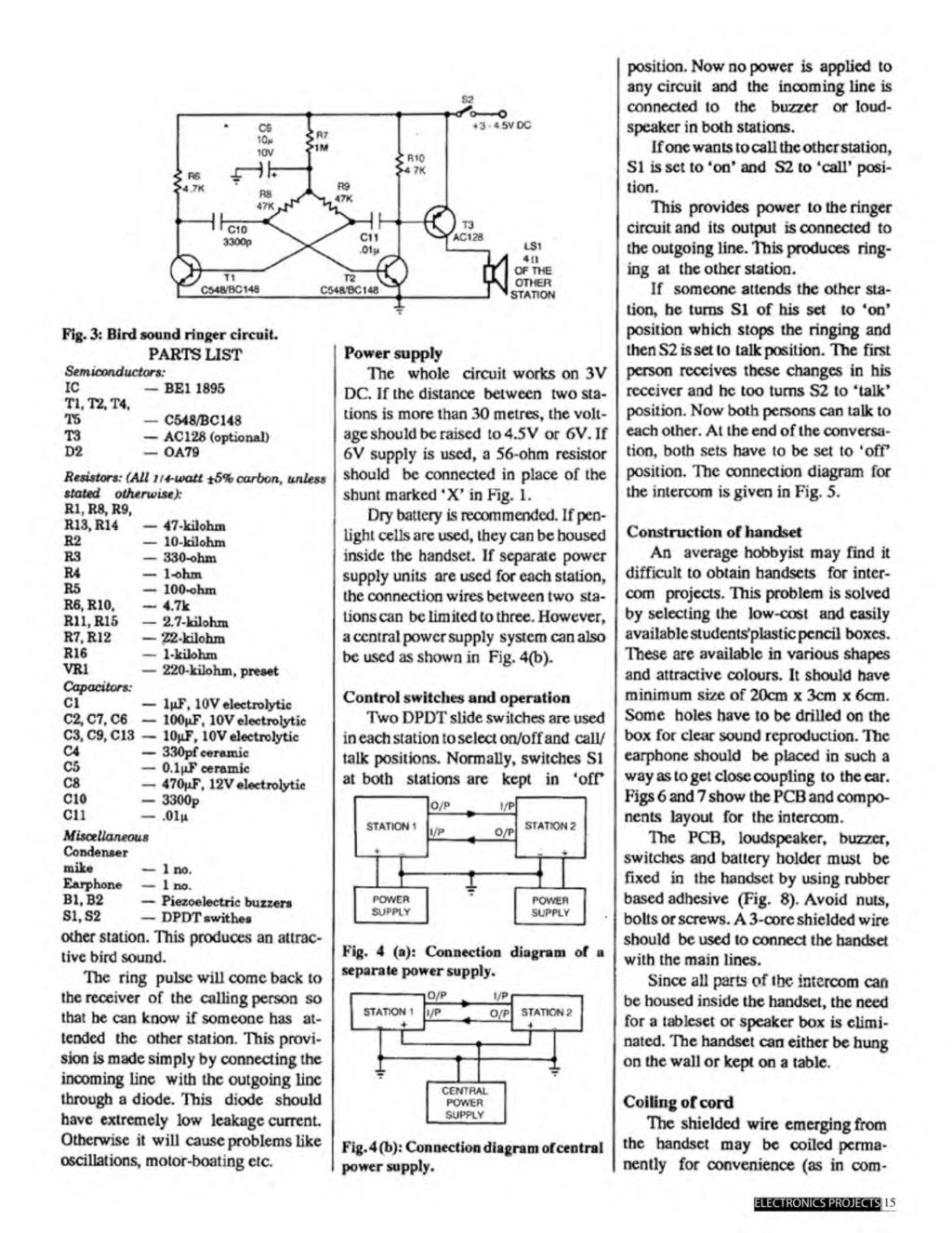 A Compilation Of 102 And Circuit Ideas For Construction Projects 555 Timer Bistable Multivibrator Technology Hacking Now No Power Is Applied To S2 Any The Incoming Line