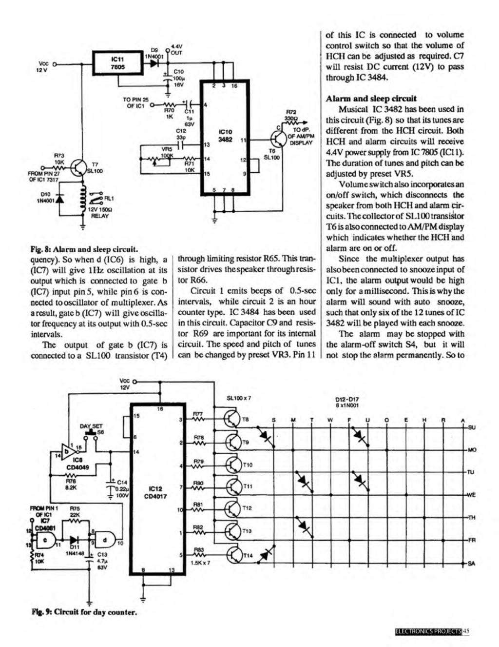 A Compilation Of 102 And Circuit Ideas For Construction Projects This Is Simple Diagram 5led Audio Vu Meter Using Ic 1 1c Connected To Volume Control Switch So That The Hch