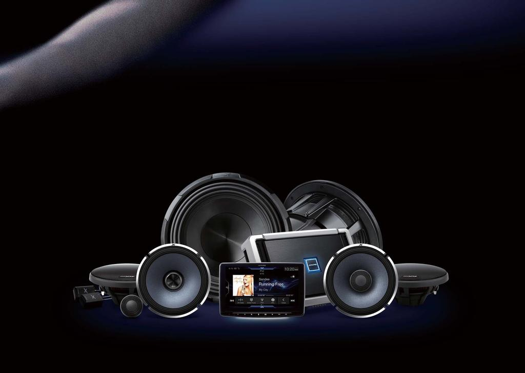 The sound you've never experienced before Take a ride with Alpine and enjoy an