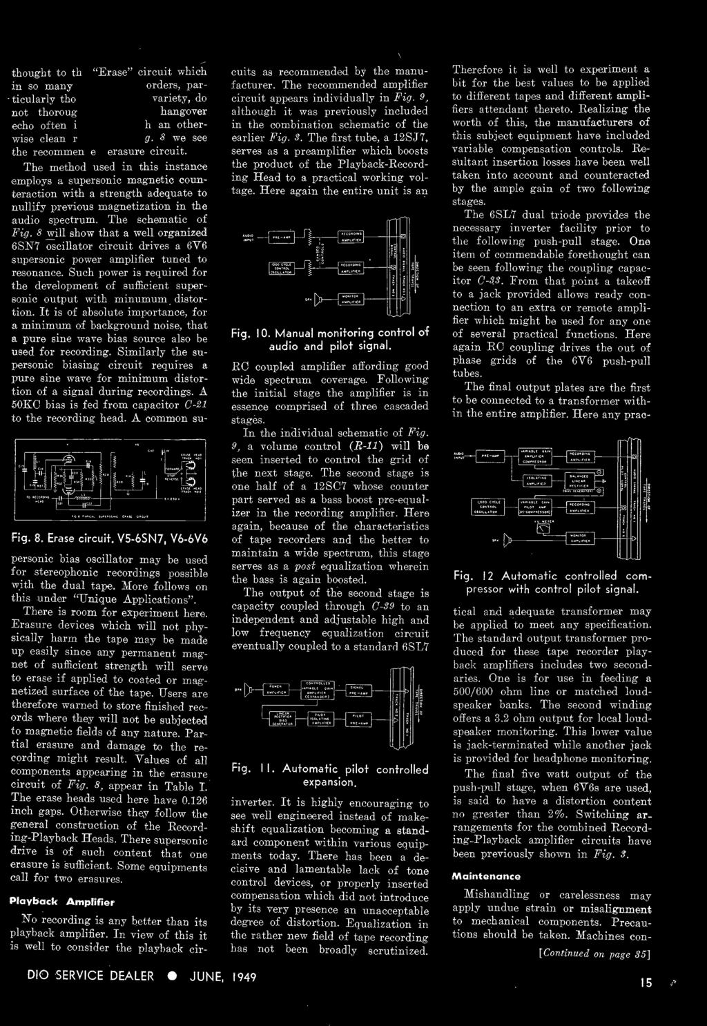 This Issue Direct View Enlarging Lens Modern Tape Recorders Part Charging Circuit Diagram For The 1949 52 Nash All Models Users Are Therefore Warned To Store Finished Records Where They Will Not Be Subjected