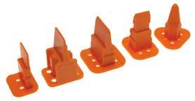4 Contact Pack of 10 Wedgelock WP-4P Receptacle DTP