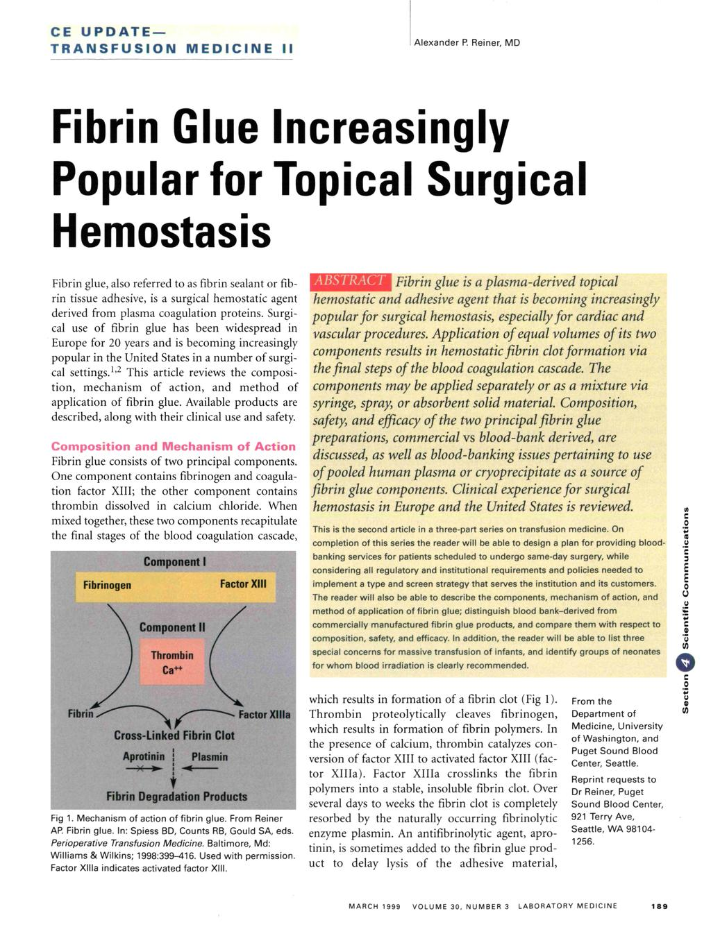Fibrin Glue Increasingly Popular for Topical Surgical