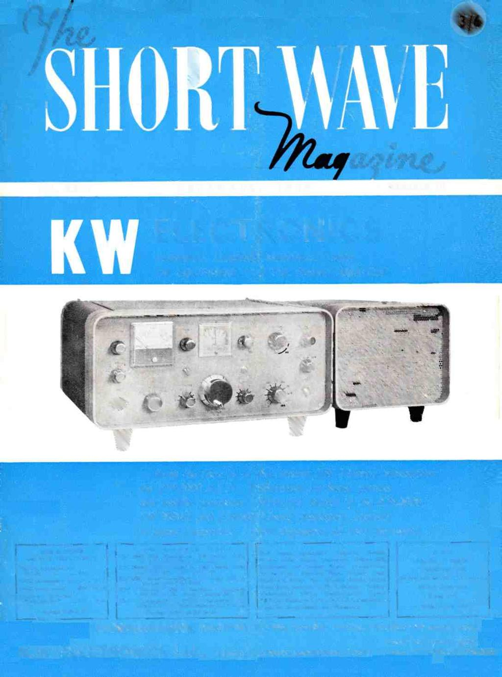Kwelectronics Europes Leading Manufacturer Of Equipment For The Am Cw Ham Bands Transmitter Vol Xxi I December 196 5 Number 10