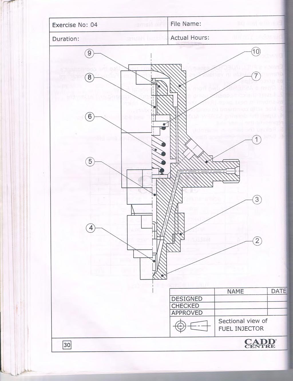 oundation CAD Project Workbook Specially for Mechanical