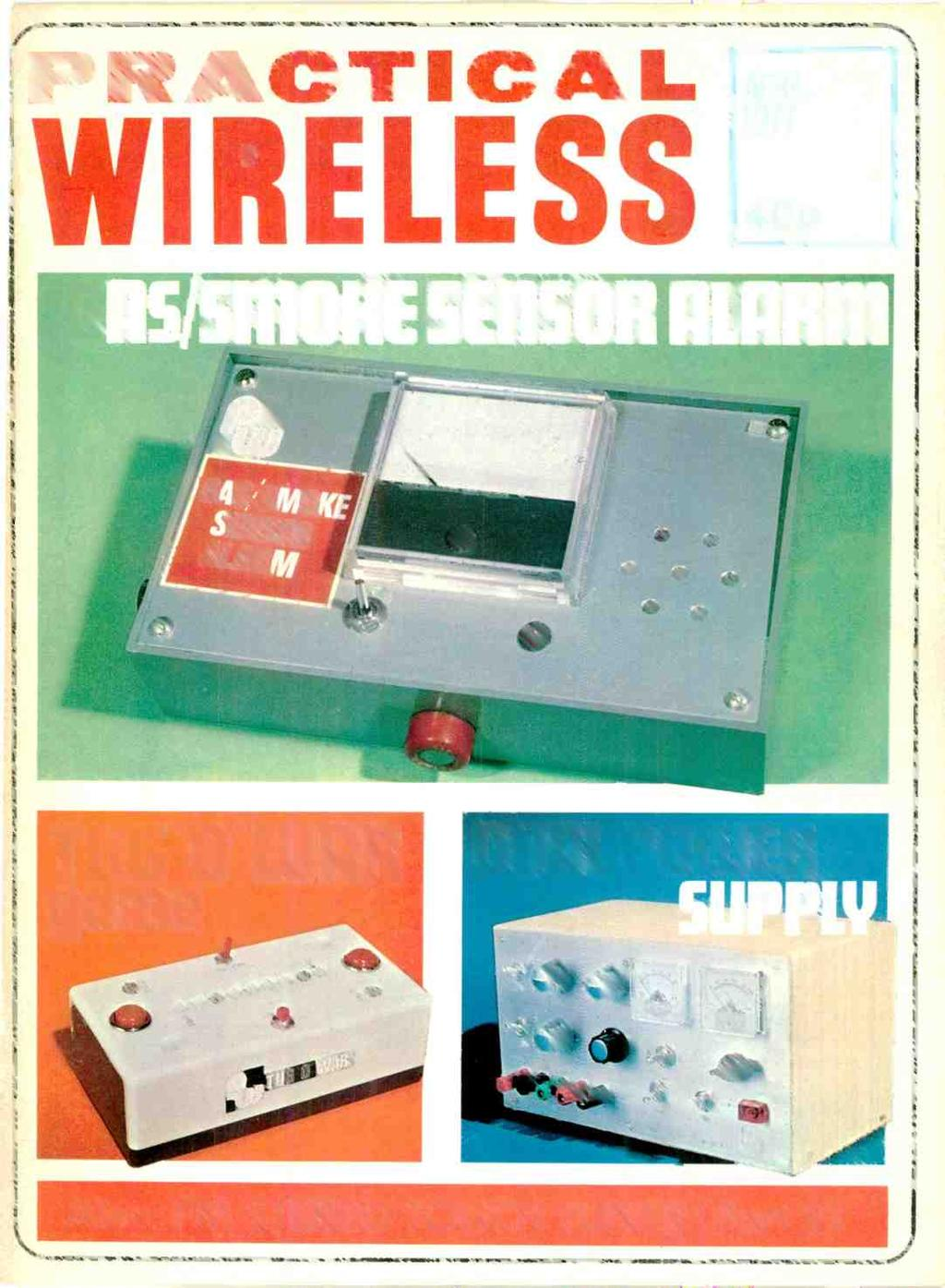APRIL WIRELESS. 40p. Also: FM STEREO TOUCH TUNER (P - PDF on