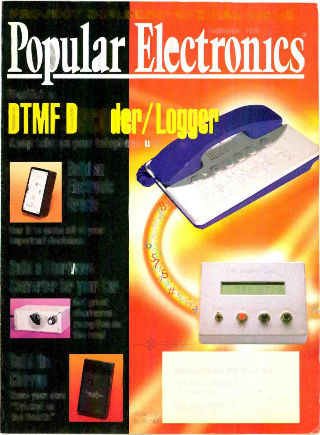 F Tl Build Project Builders Special Issue Oracle Chirrup 9 Is Integrated Circuitfds8570electronic Components Semiconductors September 1995 E I Eco Keep Tabs On Your