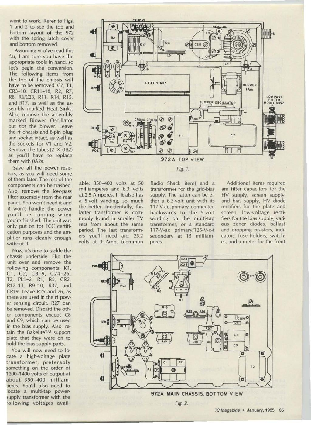 Amateur Radios Technical Journal Pdf Know If It Will Be Readable But Here Is A Wiring Diagram Of Fuse C 1 And 2 To See The Top
