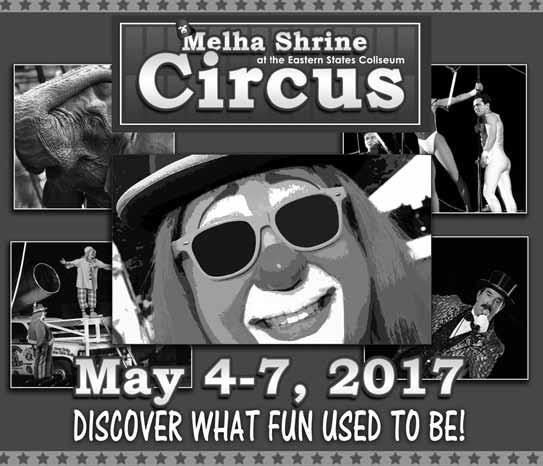 Discover What Fun Used To Be  at the Melha shrine circus