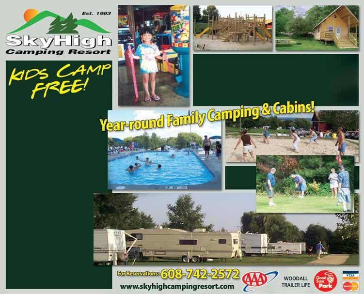 WISCONSIN ASSOCIATION OF CAMPGROUND OWNERS FOLLOW US ON - PDF