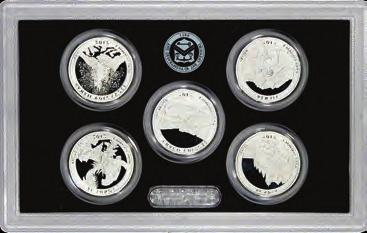 45 Coins OGP 1990-1998 Proof set run 9 box lot CN-Clad US MINT -