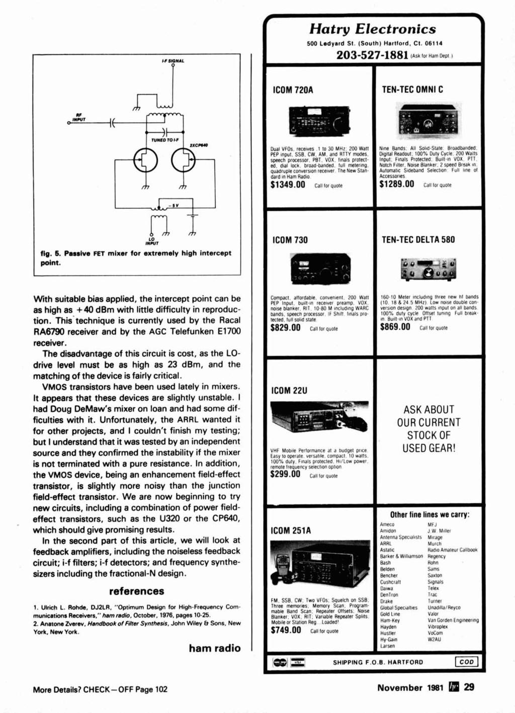 a w 1ra- Fr~quency Coverage 440 to MH - PDF