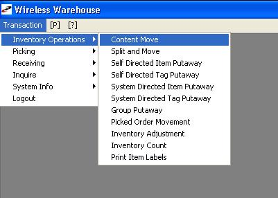 Prophet 21  Wireless Warehouse Management System with
