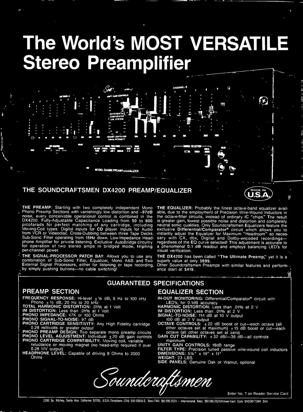 October 1983 Pdf Subwoofer Vx 12 Bd Fully Djustable Capacitance Loading From 50 To 800 Picofarads For Perfect Matching Of Any Cartridge