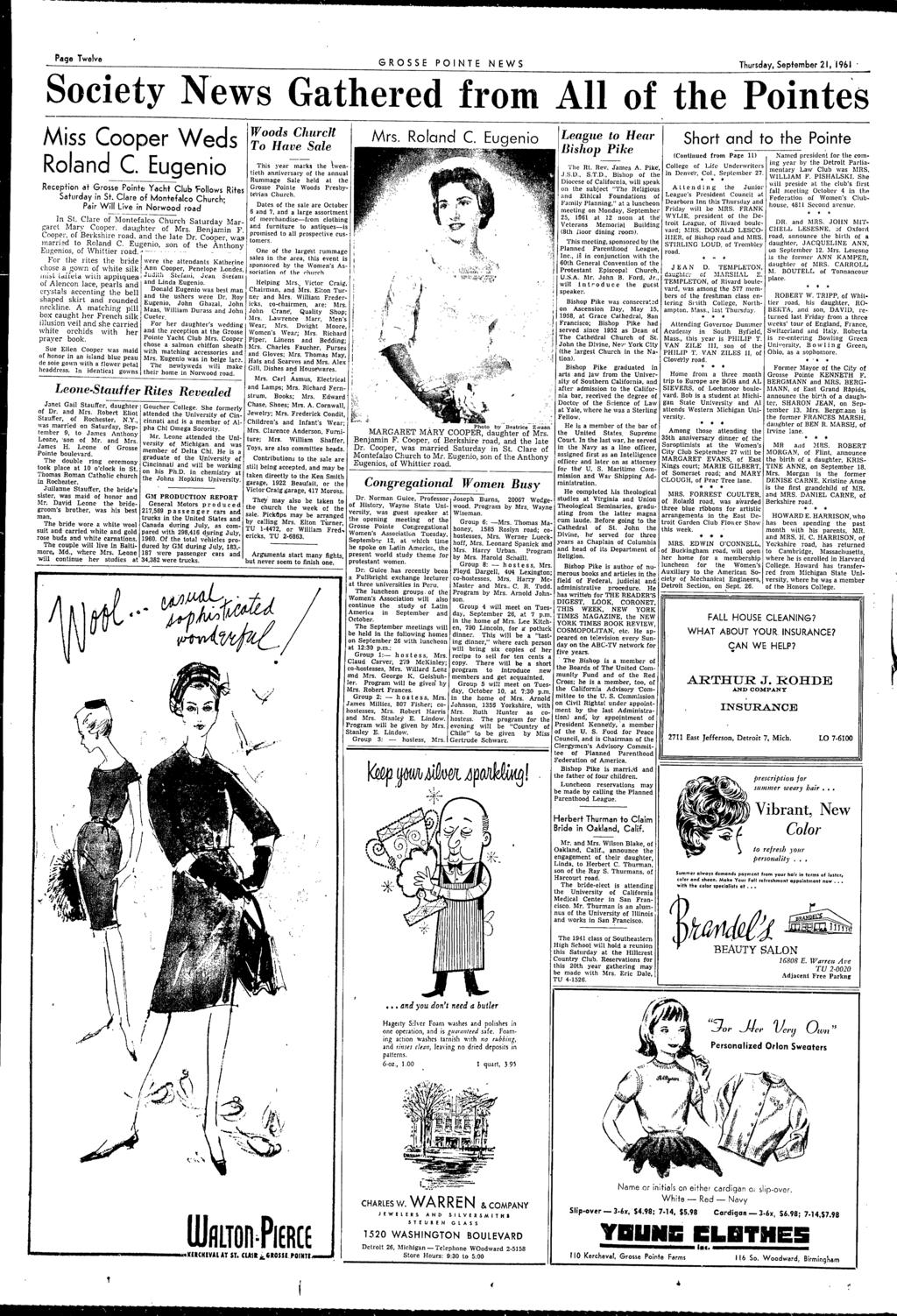313ae4655 Complete News Coverage of All the Pointes GROSSE POINTE, MICHIGAN ...