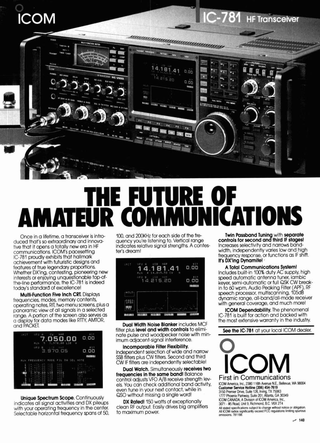 ICOM  First in Communications - PDF