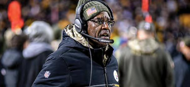 STAFF MEDIA INFORMATION JOHN MITCHELL RECORDS STEELERS HISTORY 2018 PLAYERS  FOOTBALL STAFF The Steelers defensive line 683bdcc01