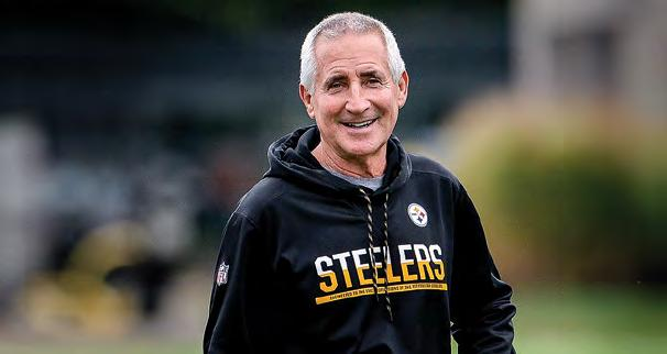 STAFF MEDIA INFORMATION DANNY SMITH RECORDS STEELERS HISTORY 2018 PLAYERS  FOOTBALL STAFF Danny Smith In addition 94a3b6f2f