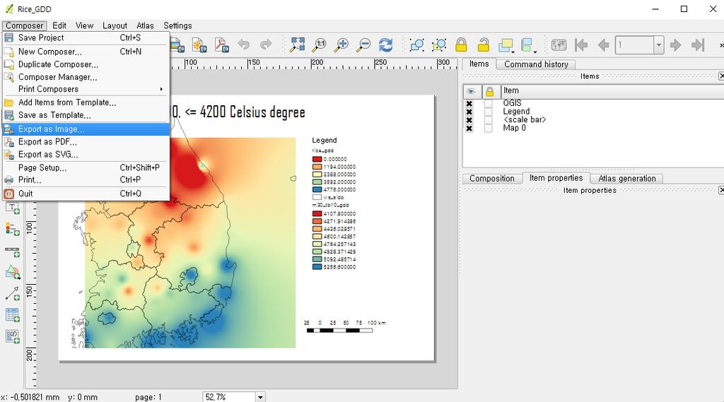 QGIS Tutorial for Agrometeorological Practice - PDF