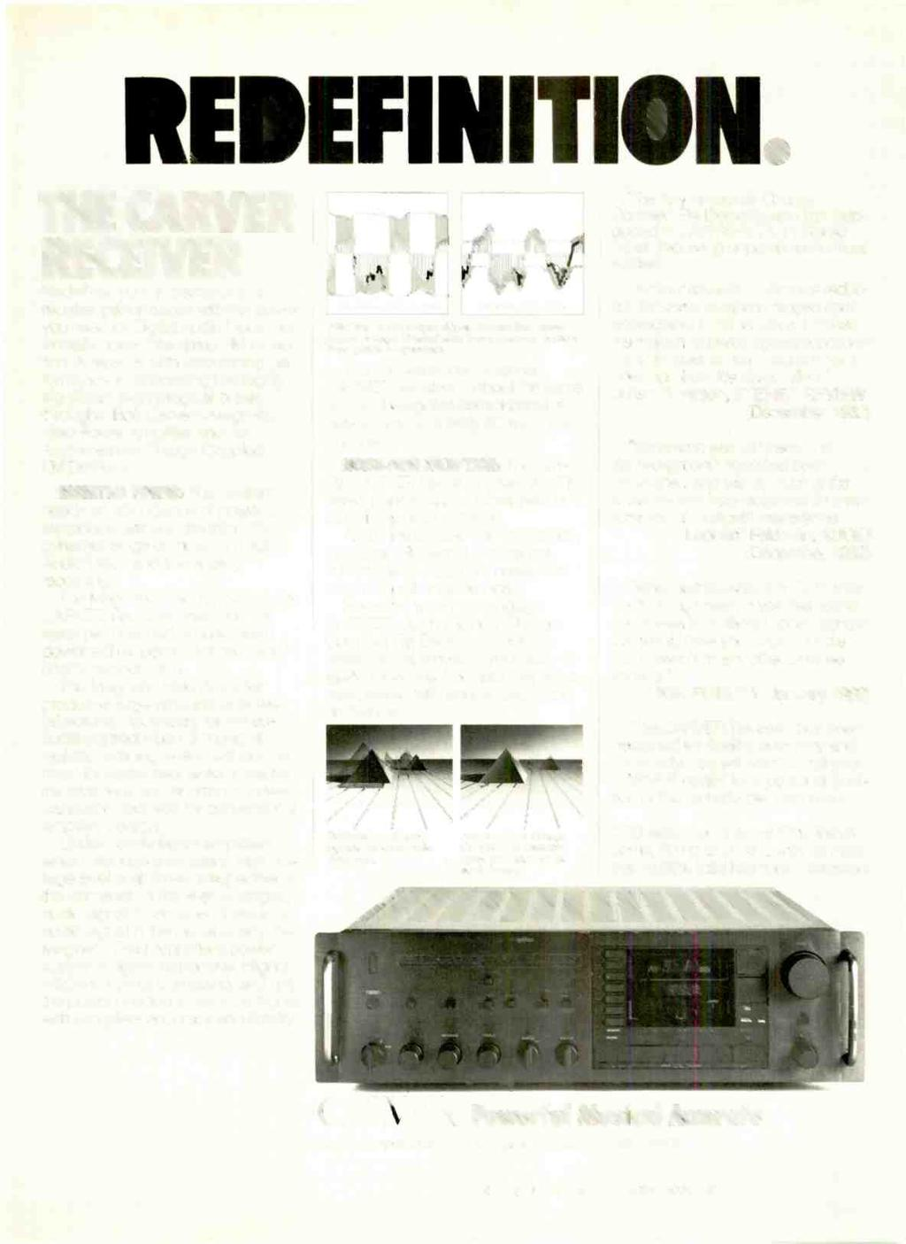 Review Understanding Amplifier Classes Guide To Specs Mini Power 11w Stereo Assembled Future Circuit Board Kit The Carver Receiver Redefines Your Expectations Of Performance With You Need