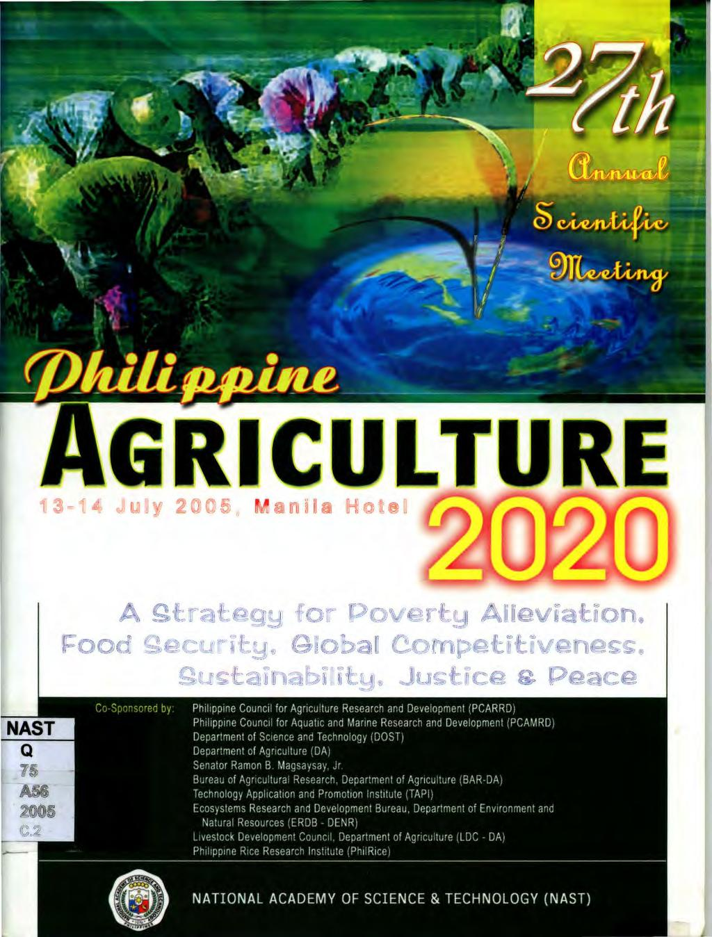 GRICULTURE  A gtrategy for Poverty Alleviation  Food