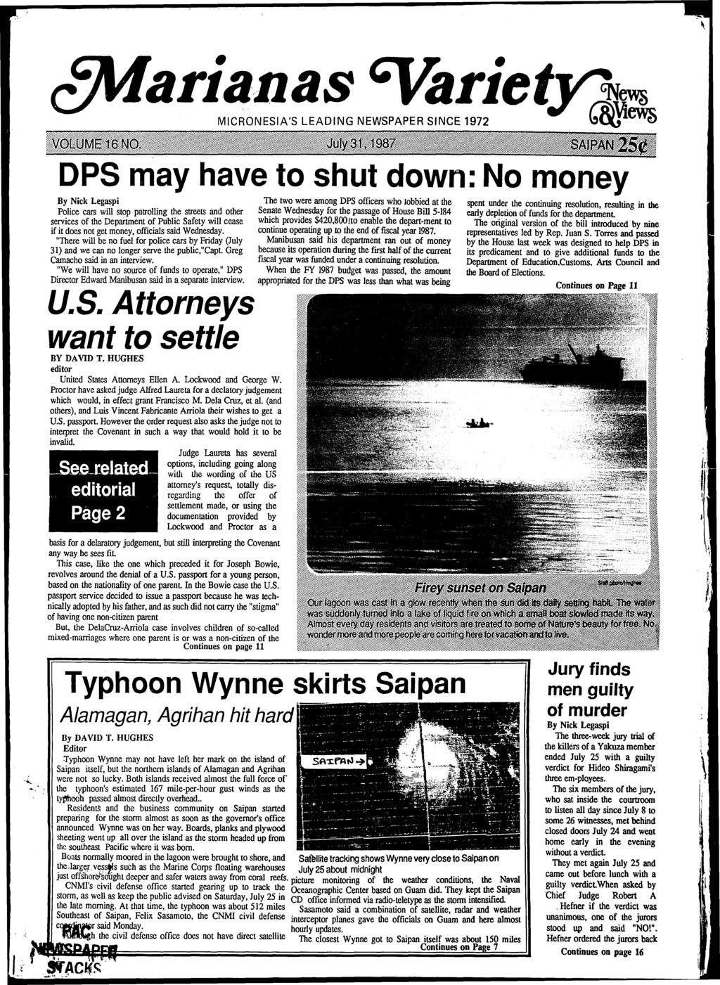 Typhoon Wynne skirts Saipan  Alamagan, Agrihan hit hard  Page2 - PDF