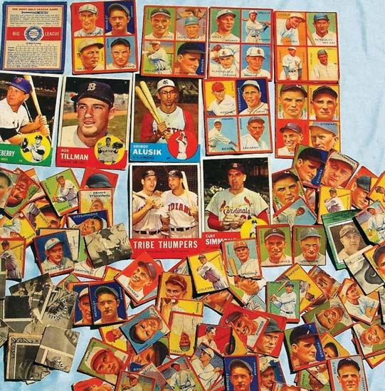 BOUT CHALLENGING 1948 LEAF BOXING CARD SET TOUGH TO COMPLETE PLUS ... 4e8b0547c
