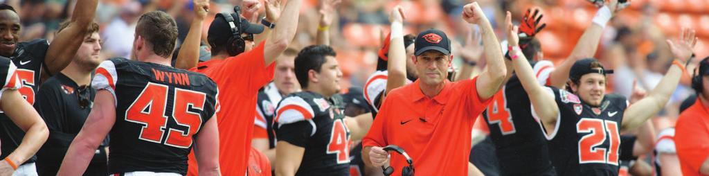 Cheap 2014 OREGON STATE FOOTBALL MEDIA GUIDE TABLE OF CONTENTS PDF  for cheap