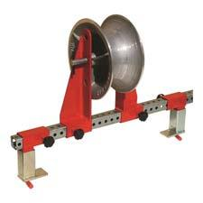 """His Business HB1A-9 Universal Cable Tray Roller w 48/"""" Cross Bar /& 2 Tray Clamps"""