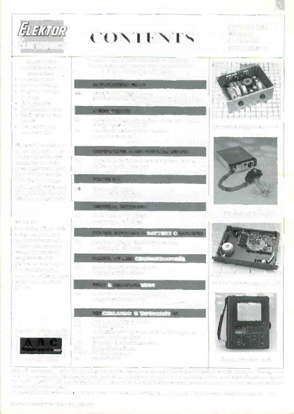 Audio Hi Fi Computers Microprocessors Design Ideas Radio Pic Projects With Ccs C Compiler Rc5 Remote Control Decoder Ktor November 1995 Contents Volume 21 Number 238 Siliri 51 Gila