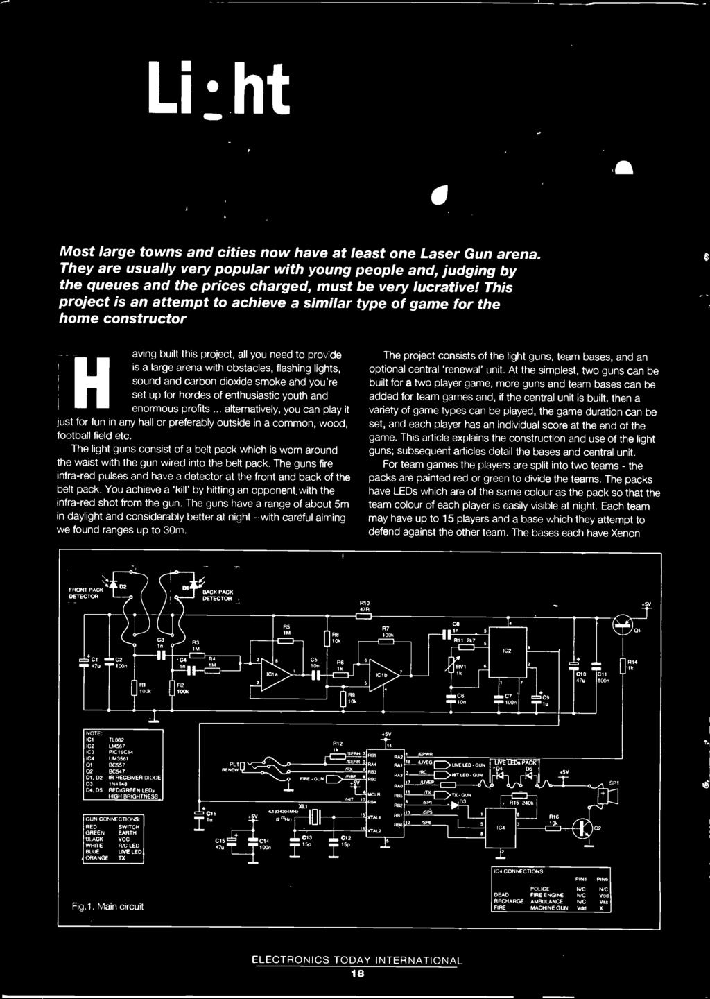 Electronics Today International Plus I O Ports For An Disk Make A In Stripboard Layout The Um3561 Sound Effect Circuit Shown Alternatively You Can Play It Just Fun Any Hall Or Preferably