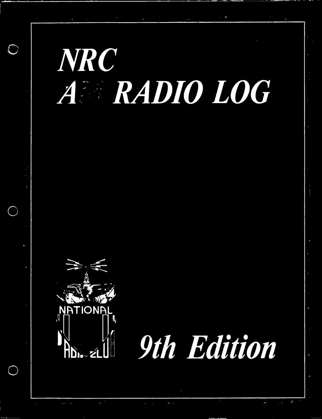 NRC AM RADIO LOG  ,e-