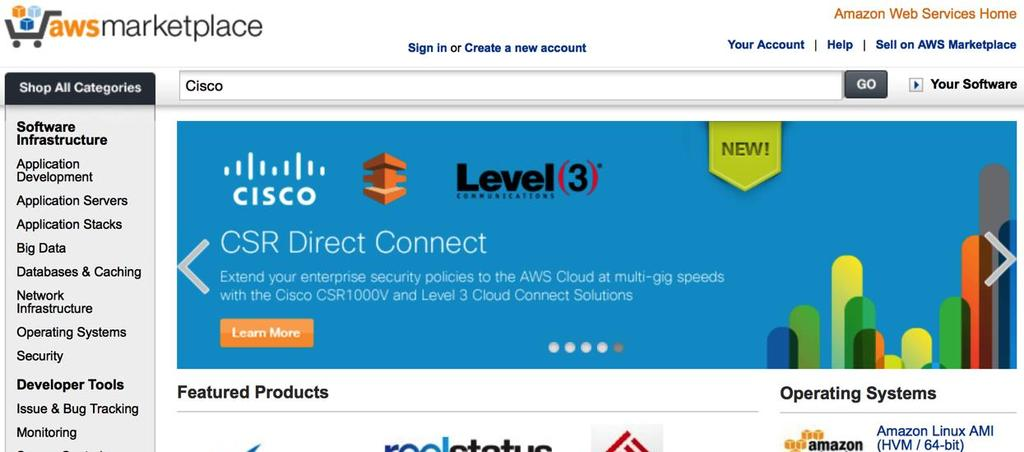 Building Hybrid Clouds in Amazon Web Services with the CSR
