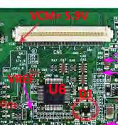 collection of lcd led television repair tips v4 0 pdf vgh vgl vcom 92e boost board module lcd screen