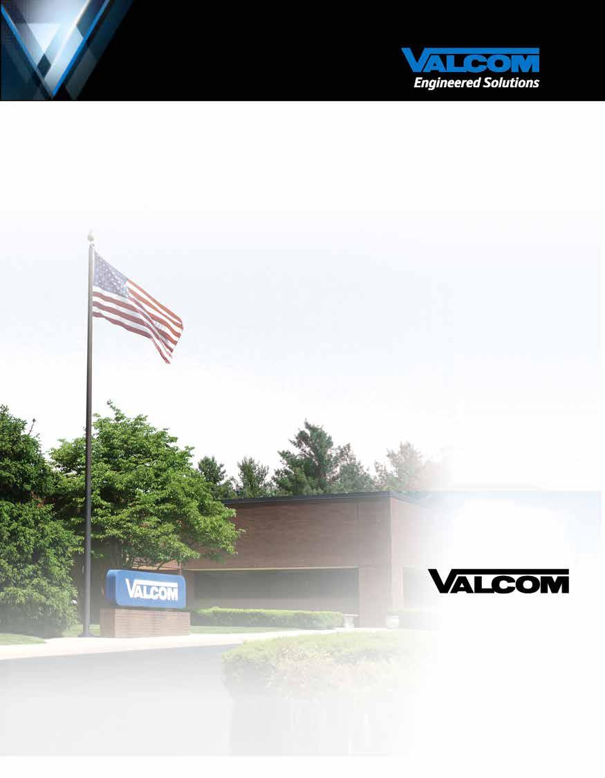 Replacement for VALCOM SX15-8M