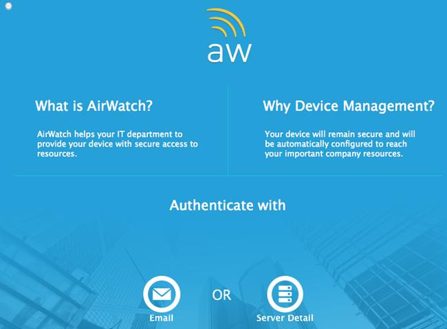 VMware AirWatch macos Platform Guide Deploying and Managing