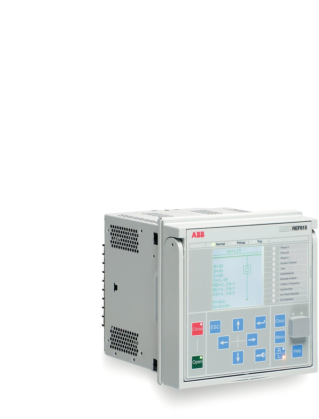 RELION 615 SERIES Feeder Protection and Control REF615 ANSI