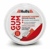 10 Pack x Holts Fire Gum Exhaust Paste 150gm High Quality bulk buy