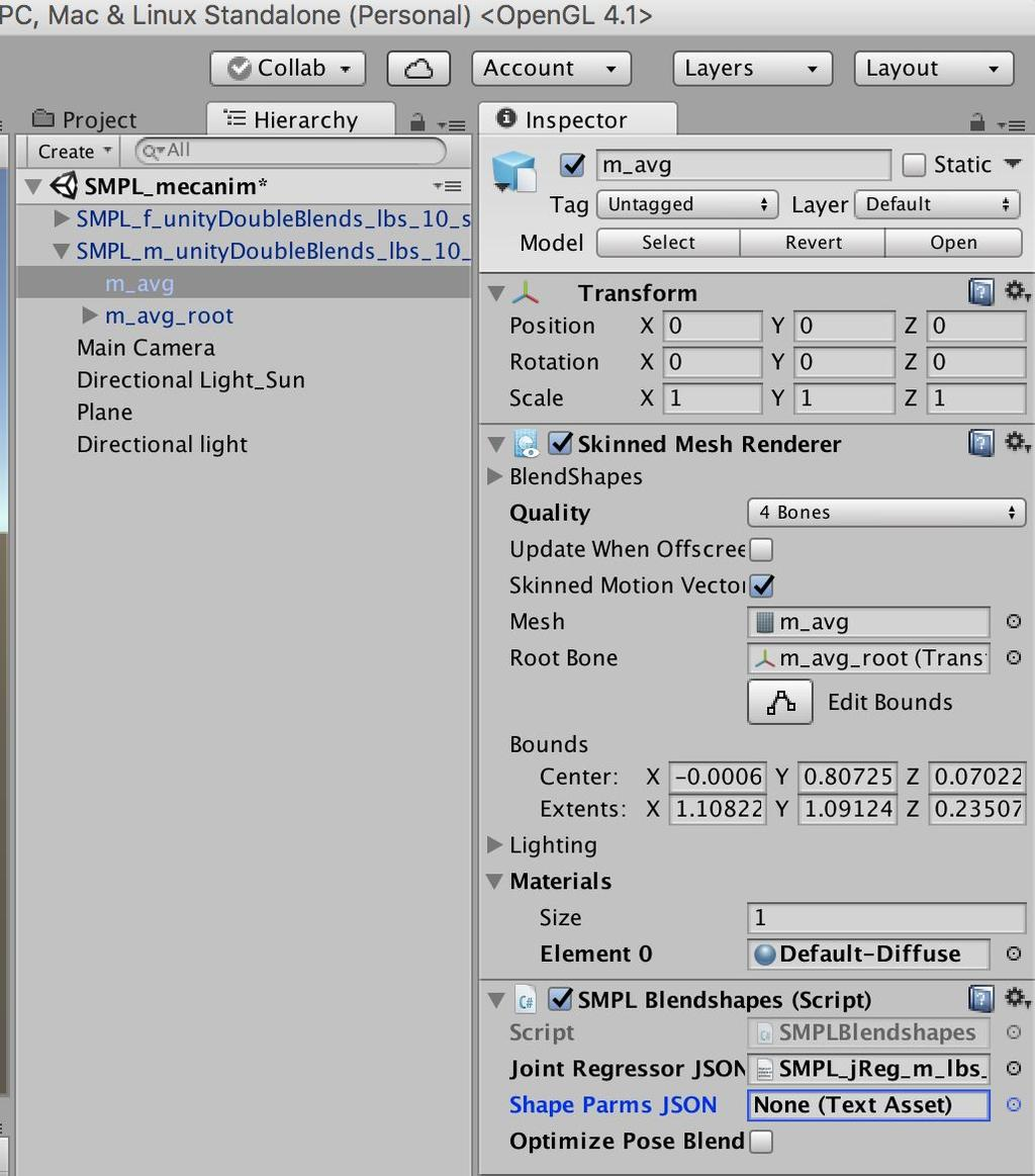 How to Use SMPL Model in Unity - PDF