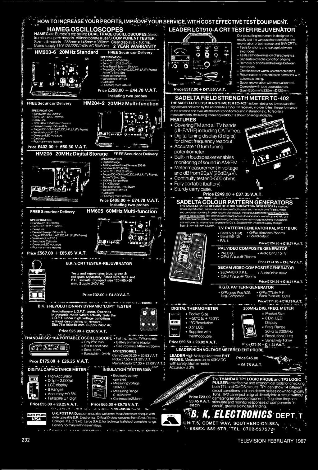Advertising 1970-79 Collection Here 1974 Tektronix Telequipment D61 Oscilloscope Tv Repair Service Vtg Print Ad Strong Packing
