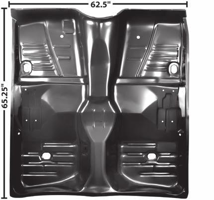1962 63 64 Chevy Impala Rear Window Moldings 5 Pieces Set Stainless Steel-M1724N