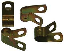 """NORMA PIPE RETAINING /""""P/"""" CLIPS CLAMPS 12mm PACK OF 10 15//32/"""" MADE IN GERMANY"""