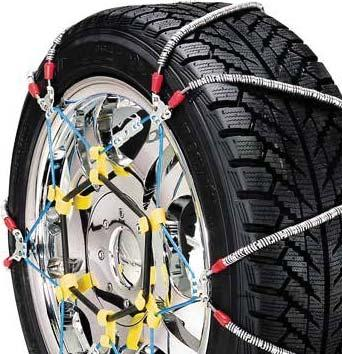 Set of 2 Security Chain Company DB2141 Diamond Blue Alloy Tire Traction Chain