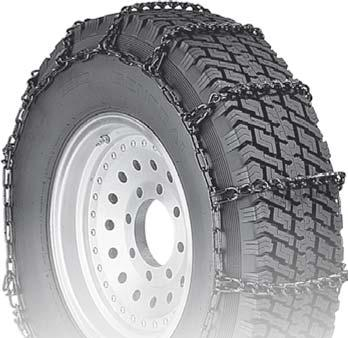 Set of 2 Security Chain Company QG0125 Quik Grip Forklift Tire Traction Chain
