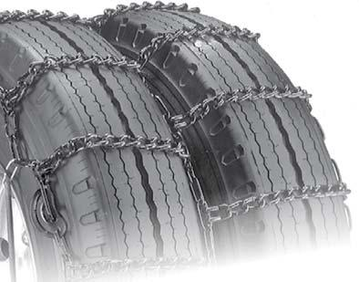 Security Chain Company QG4829 Quik Grip V-Bar Type DT Light Truck Dual and Triple Tire Traction Chain Set of 2
