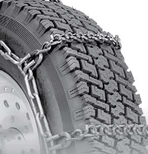 Security Chain Company QG2855 Quik Grip V-Bar Truck Single RS Tire Traction Chain Set of 2