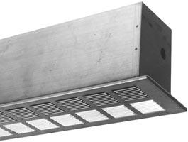 """Baseboard Heaters Left-Hand 3-3//4/"""" End Cap Commercial Grade Hydronic Convection"""