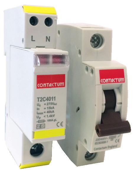 Pack of 5 Contactum CPBR0632B Type B SP RCBO 32 A 6 kA